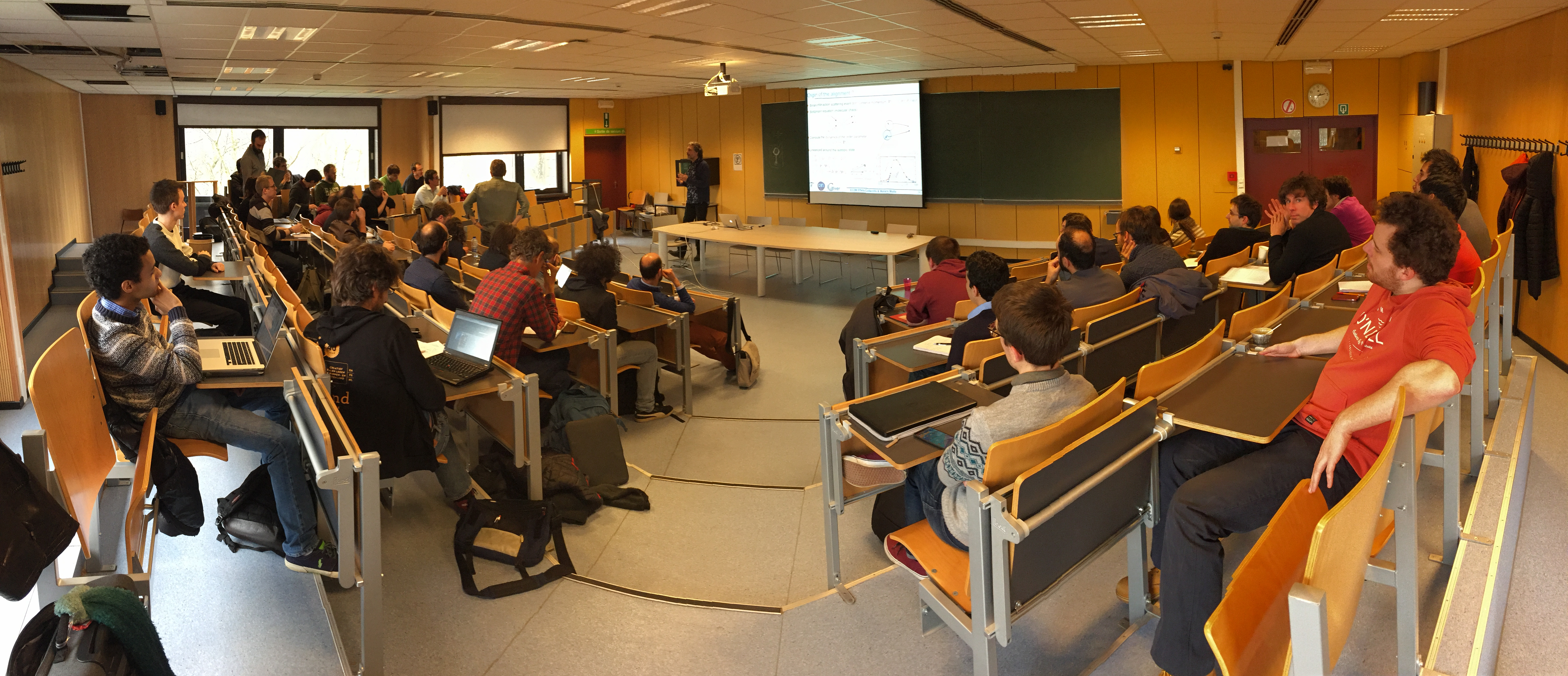 2nd Mecamolle meeting in ULB